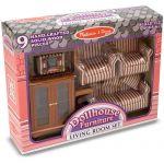 Игровой набор Melissa&Doug 'Мебель для гостиной' (MD2581)