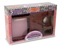 Игровой набор Melissa&Doug 'Мебель для спальни' (MD2583)