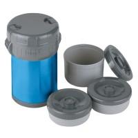 Термос Ferrino Inox Lunch Jug With 3 Containers 1.5 Lt Blue (924876)