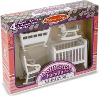 Игровой набор Melissa&Doug 'Мебель для детской комнаты' (MD2585)