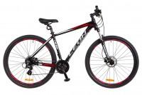 Велосипед 29'' Leon TN-80 AM Hydraulic lock out 14G HDD рама-21'' Al черно-красный (OPS-LN-29-031)