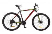 Велосипед 29'' Optimabikes F-1 AM 14G HDD рама-21'' Al черно-красный с желтым (OPS-OP-29-045)