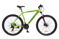 Велосипед 29'' Optimabikes F-1 AM 14G HDD рама-21'' Al салатно-черно-оранжевый (OPS-OP-29-046)