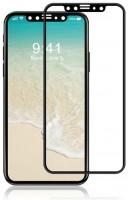 Защитное стекло XO FD1 3D Curved Surface Full Screen Tempered Glass 0,26 mm Black for iPhone X
