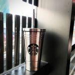 Подарок Стакан с крышкой и трубочкой 'Starbucks Reserve', 473 мл, cеребро
