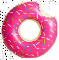 Подарок Надувной круг 'Пончик'
