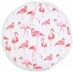 Подарок Пляжный коврик 'Фламинго'