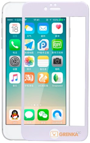 Купить Защитное стекло XO FD1 3D Curved Surface Full Screen Tempered Glass 0, 26 mm White for iPhone 6/6S