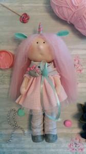 Кукла ручной работы ' Вероника ' , 30 см