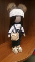 Кукла ручной работы ' Каролина ', 30 см