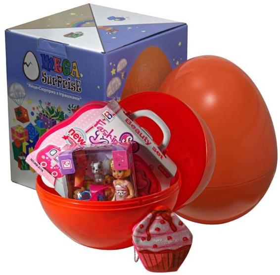 Купить Яйцо-сюрприз с игрушками 'Для девочки', Megasurprise
