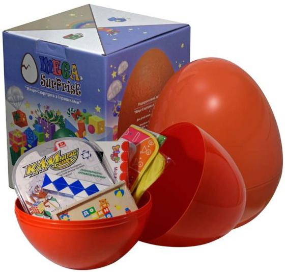 Купить Яйцо-сюрприз с игрушками 'Развитие', Megasurprise