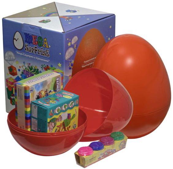 Купить Яйцо-сюрприз с игрушками 'Творчество', Megasurprise