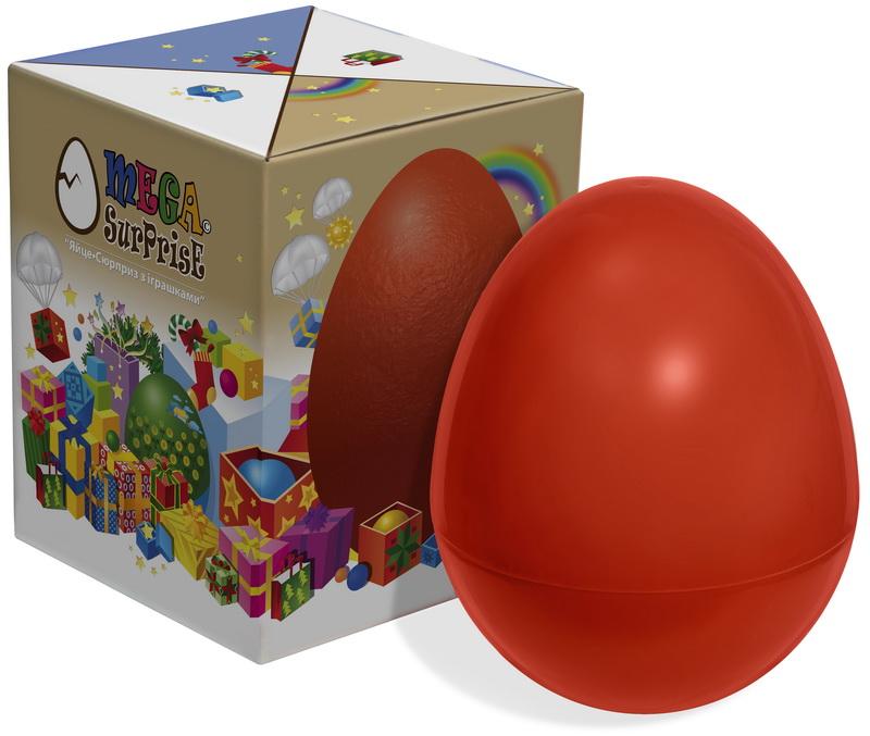 Купить Большое пластиковое Яйцо-сюрприз, Megasurprise
