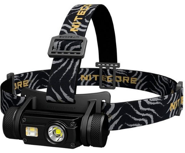 Купить Фонарь налобный Nitecore HC65 (Cree XM-L2 U2 + RED LED, 1000 люмен, 12 режимов, 1x18650, USB) (6-1287)