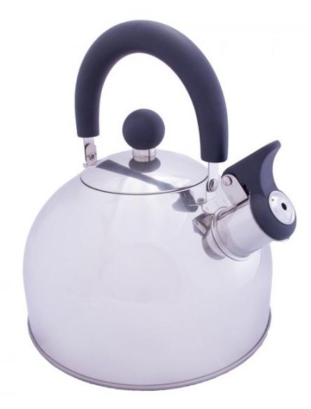 Купить Чайник Vango Stainless Steel With Whistle 2.0L Silver (925259)
