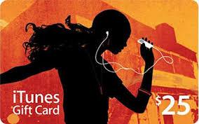 Купить ITunes Gift Card $25 USA - Скан карты