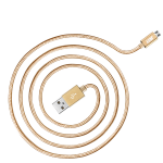 JUST Copper Micro USB Cable 1,2M Gold (MCR-CPR12-GLD)