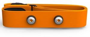 Сменный ремешок для датчика Polar H7 Soft Strap Orange M-XXL (91053147)