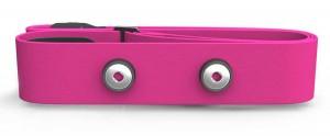 Сменный ремешок для датчика Polar H7 Soft Strap Pink M-XXL (91053146)