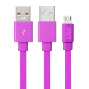 Кабель JUST Freedom Micro USB Cable Pink (MCR-FRDM-PNK)