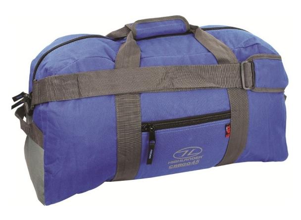 Купить Сумка дорожная Highlander Cargo 45 Blue (925497)