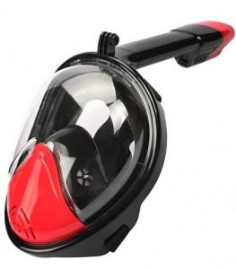 Маска для снорклинга JUST Breath Pro Diving Mask S/M Red/Black (JBRP-SM-RB)