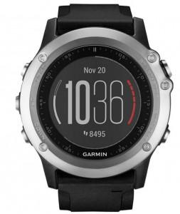 Спортивные часы Garmin Fenix 3 HR GPS Silver with Black Silicone Band (010-01338-77)