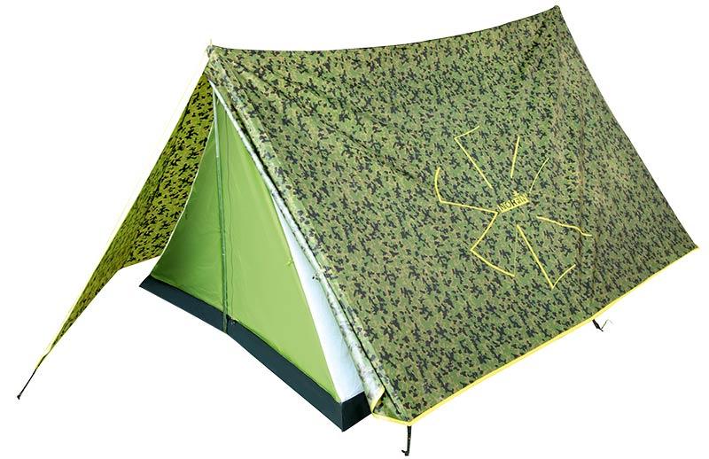 Купить Палатка 2-х местная Norfin Tuna 2 3000мм / FG / 370Х180х120см / NC (NC-10103)