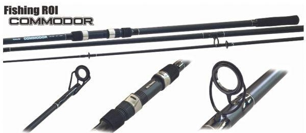 Купить Удилище карповое Fishing Roi Commodor Carp Rod 3.60м 3.5Lb 3-секционный (615-5-360)