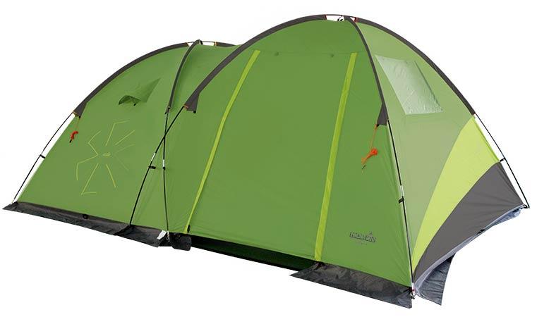 Купить Палатка 4-х местная Norfin Pollan 4 4000мм / FG / 220+(200)Х290х180см / NF (NF-10203)
