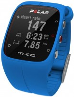 Спортивные часы Polar M400 HR + GPS for Android/iOS Blue (90057190)