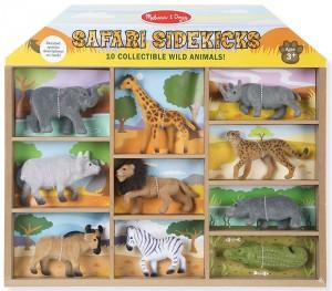 Игровой набор Melissa&Doug 'Дикие животные' 10 шт. (MD593)