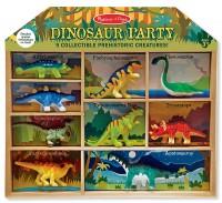 Игровой набор Melissa&Doug 'Динозавры' 9 шт. (MD2666)