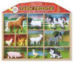 Игровой набор Melissa&Doug 'Животные фермы' 10 шт. (MD594)