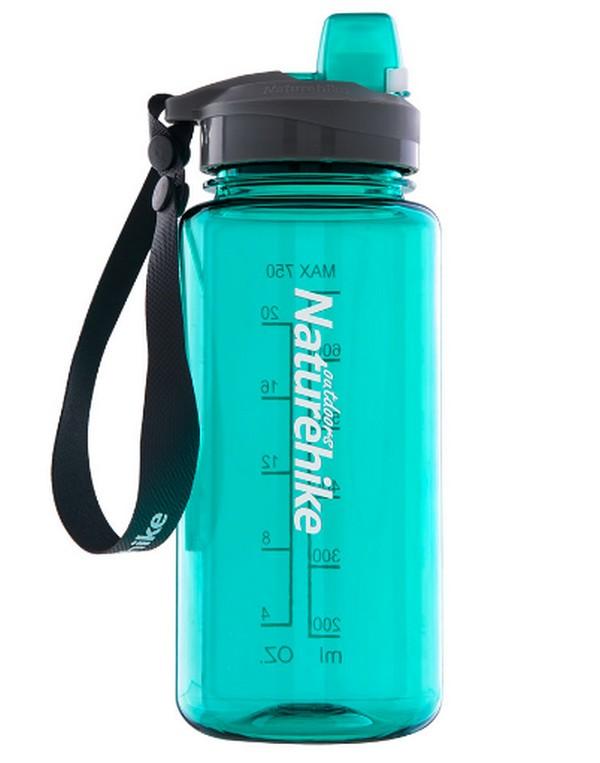 Купить Фляга спортивная NatureHike 'Sport bottle' 0, 75л зеленая (NH17S010-B)