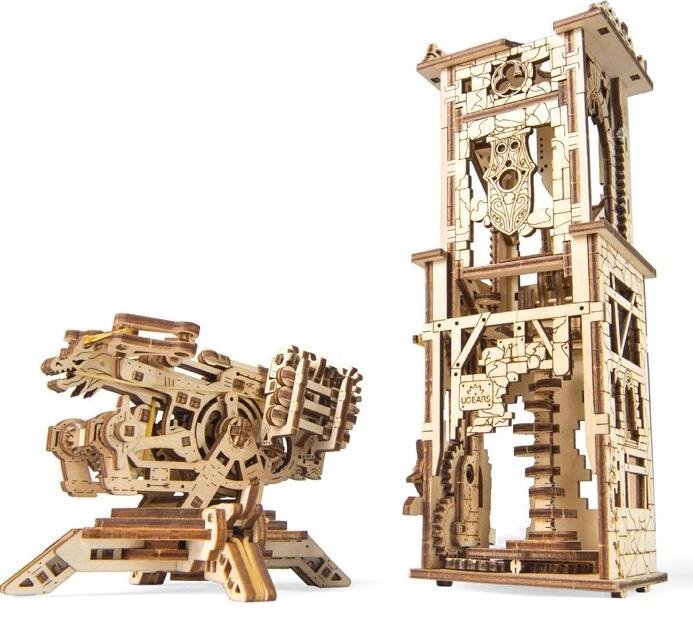 Купить Механический 3D пазл Ukrainian Gears 'Башня-Аркбалиста' (70048)