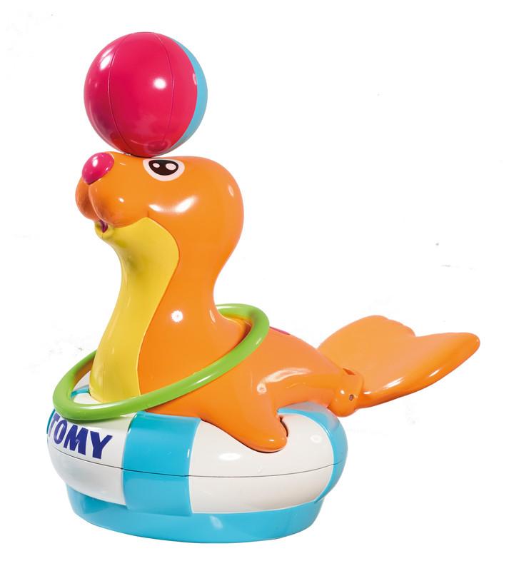 Купить Игрушка для ванной комнаты Pre-school Bathtime fun Tomy 'Тюлень Сэнди' (T72609)