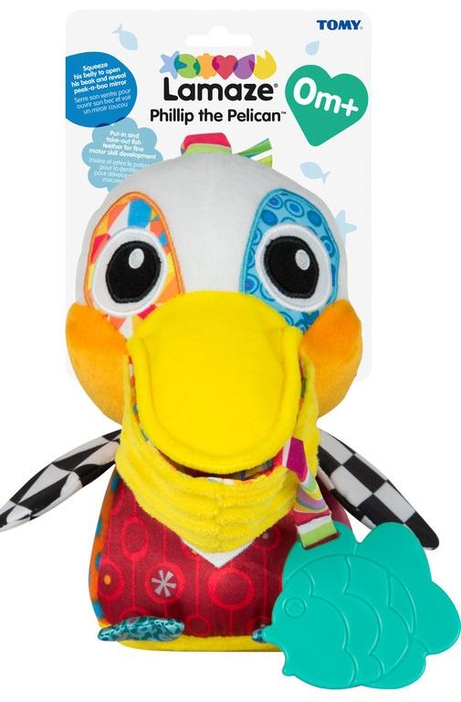 Развивающая игрушка для малышей Lamaze 'Пеликан Фелип' (LC27518)  - купить со скидкой