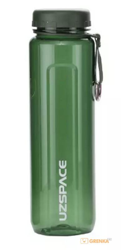 Купить Бутылка для воды спортивная Uzspace (950ml) зеленая (6004GN)