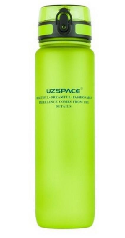 Купить Бутылка для воды спортивная Uzspace (1000ml) зеленая (3038GN)