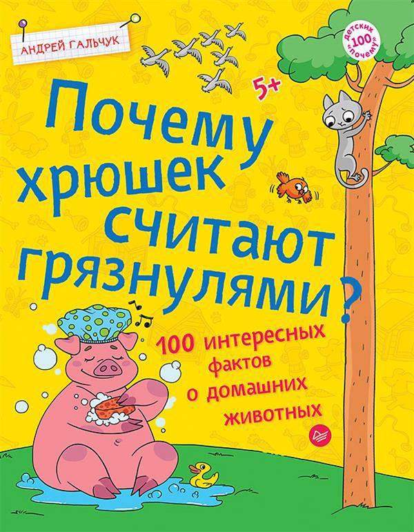 Купить Почему хрюшек считают грязнулями? 100 интересных фактов о домашних животных, Андрей Гальчук, 978-5-00116-160-8