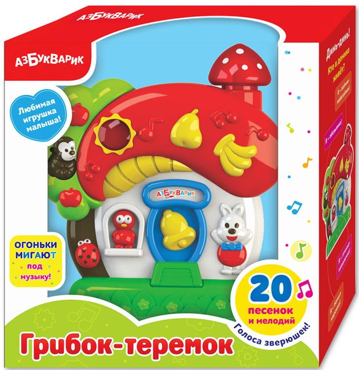 Купить Музыкальная игрушка Азбукварик 'Грибок-теремок'