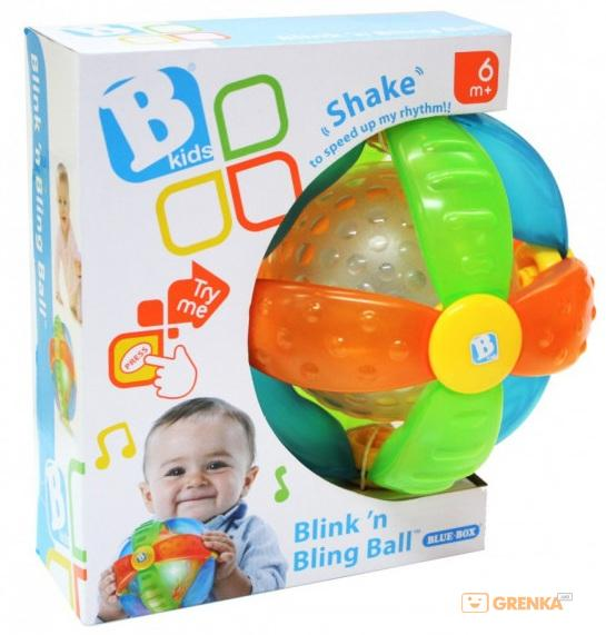 Купить Интерактивная игрушка Sensory B kids Светящийся мячик (004341S)
