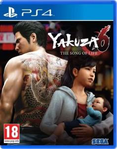 игра Yakuza 6 The Song of Life (PS4)