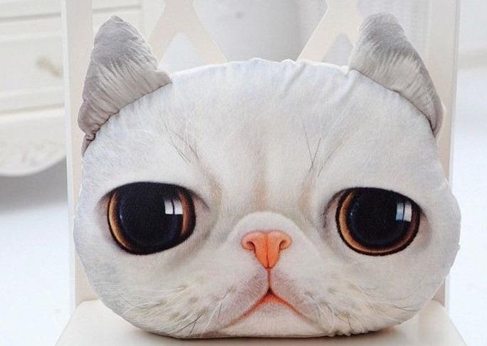 Купить 3D подушка Кот Жасик (pK_Zhasik), Toyko