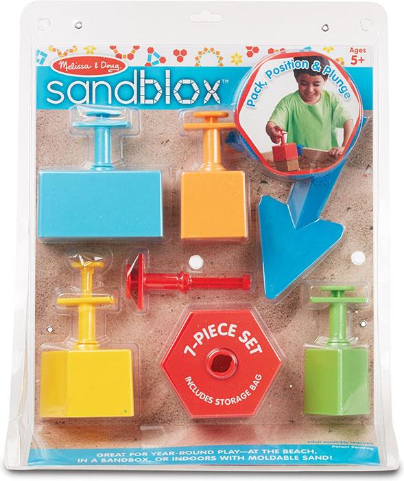 Купить Игрушка для песка Melissa&Doug 'Набор для строительства песчаных фигур' (MD8260), Melissa & Doug