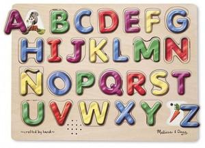 Звуковой пазл Melissa&Doug 'Испанский алфавит' (MD723)
