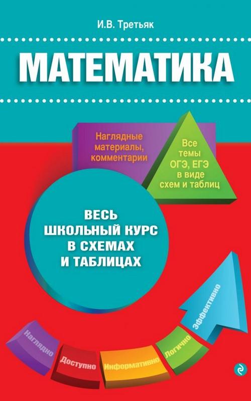 Купить Математика, Ирина Третьяк, 978-5-699-71188-8