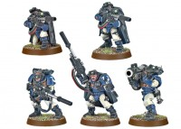 фигурка Фигурки для сборки Games Workshop 'Space Marine Scouts with Sniper Rifles' (99120101044)